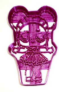PURPLE QUEEN SURPRISE DOLL SERIES CHILDREN TOY BALL LAYER COLLECTIBLE GLITTERY BROWN EYES GLITTER HAIR LITTLE OUTRAGEOUS LITTLES SPECIAL OCCASION COOKIE CUTTER BAKING TOOL 3D PRINT MADE IN USA PR2428