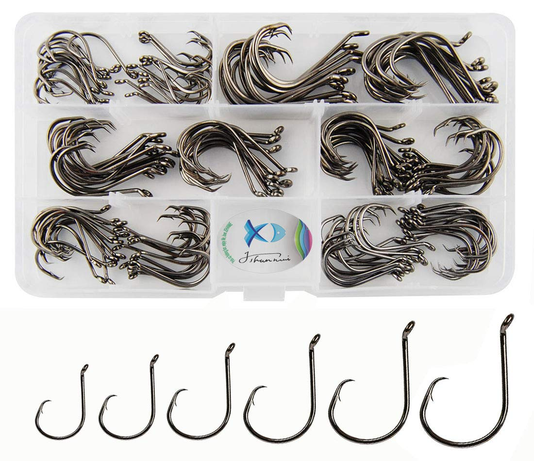 JSHANMEI Customized Octopus Fishing Hooks Size