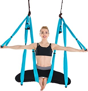 Himifuture Yoga Hamaca Columpio Trapecio Set Anti Gravedad