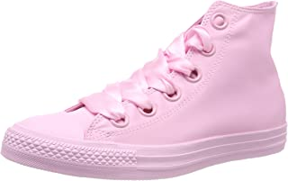 Chuck Taylor All Star Big Eyelet High Top Sneaker Womens Fashion-Sneakers 560657C_8.5 - Pink