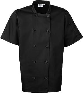 PREMIER PR656 Men's Short Sleeved Chef's Jacket