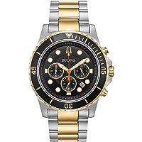 Bulova 98B327 Men's Two Tone Chronograph Watch