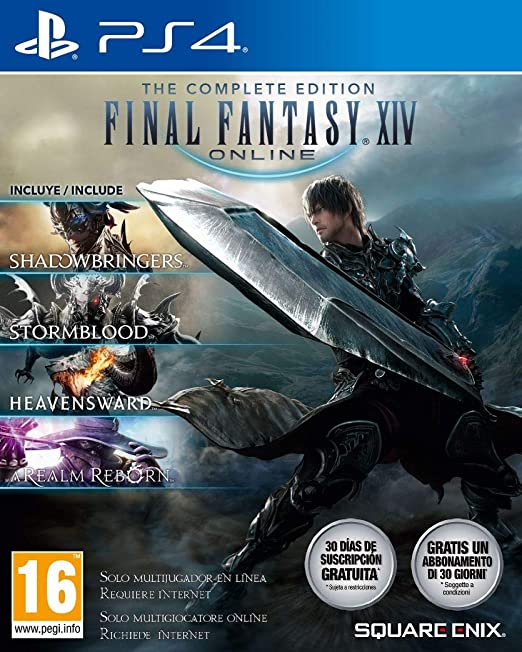 Final Fantasy XIV: Shadowbringers - Complete Edition (PS4)