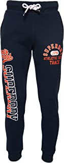 Superdry Men's Track & Field Jogger, Eclipse Navy