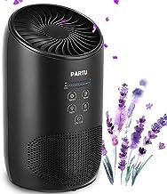 دستگاه تصفیه کننده هوا PARTU - مجهز به سیستم فیلتر پیشفیلتر، هپا، کربن فعال و فیلتر کردن گردوغبار، بوی نامطبوع، دود و ذرات آلرژیزا
