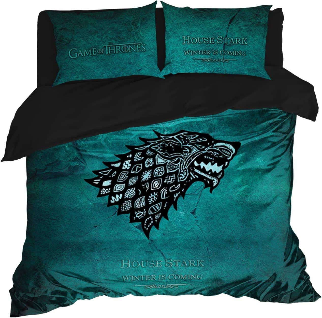 Bedding Set Game of Thrones Inspired 新作アイテム毎日更新 Fam Cover 人気ブランド多数対象 Duvet Stark