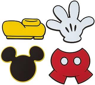 Disney Park Mickey Mouse Body Parts Vinyl Magnet Set of 4 NEW
