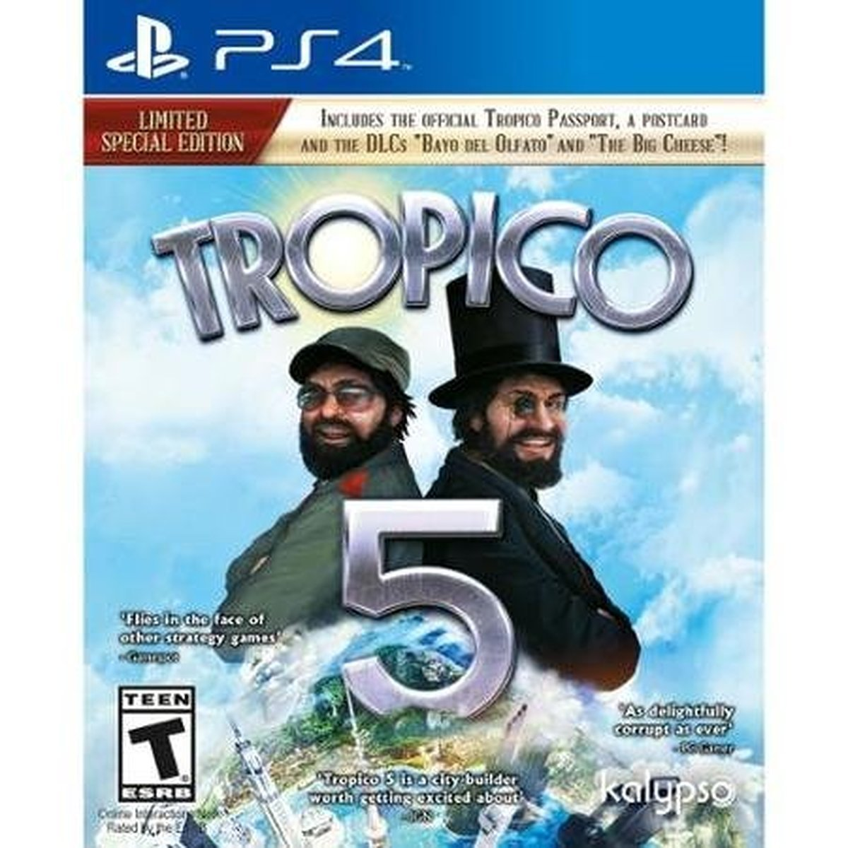 Tropico New product type 5 PS4 - PlayStation Sale 4 Limited Edition Special