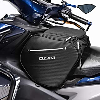 WOSAWE Scooter Tunnel Bag Sport Motorcycle Gear Bag with Rain Cover