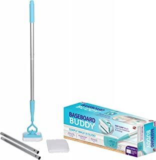Baseboard Buddy – Baseboard & Molding Cleaning Tool! Includes 1 Baseboard Buddy and 3 Reusable Cleaning Pads, As Seen on TV