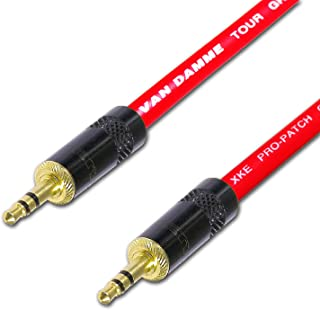 Van Damme 3 m 3.5 mm Mini Jack to Jack Cable - Red