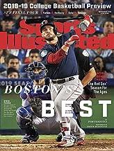Sports Illustrated Magazine (November 5, 2018) Boston's Best Boston Red Sox World Series Champions