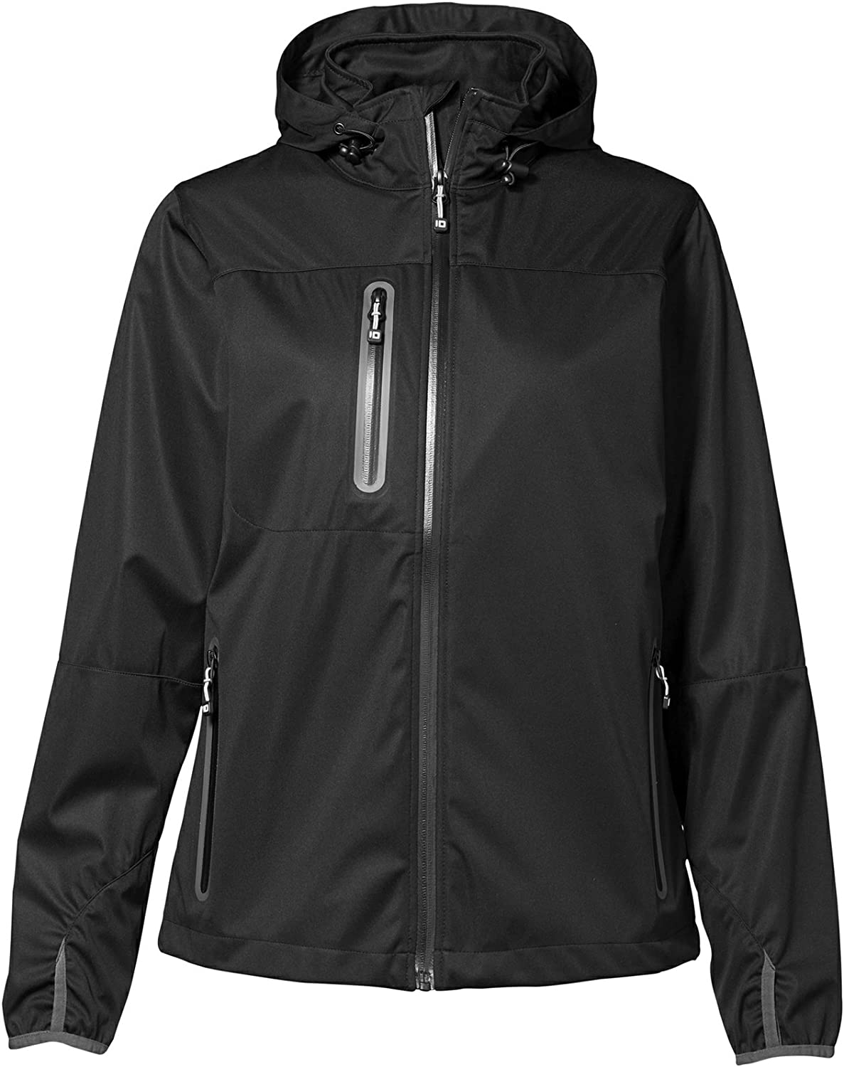 ID Womens Ladies Lightweight ThreeLayer Soft Shell Jacket
