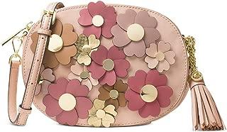 MICHAEL Michael Kors Flora Appliqué Ginny Medium Messenger, Soft Pink
