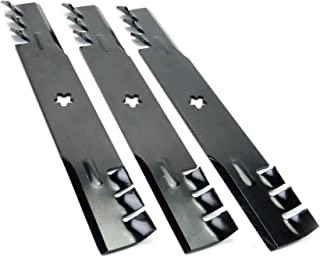 """MowerPartsGroup (3) Replacement Toothed Blades for 52"""" Husqvarna 574870801"""