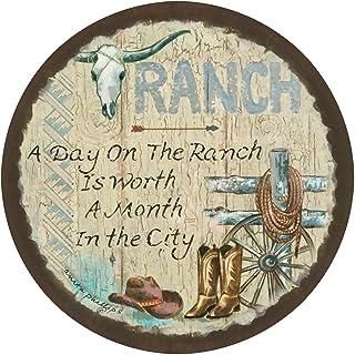 Thirstystone Stoneware Coaster Set, Ranch