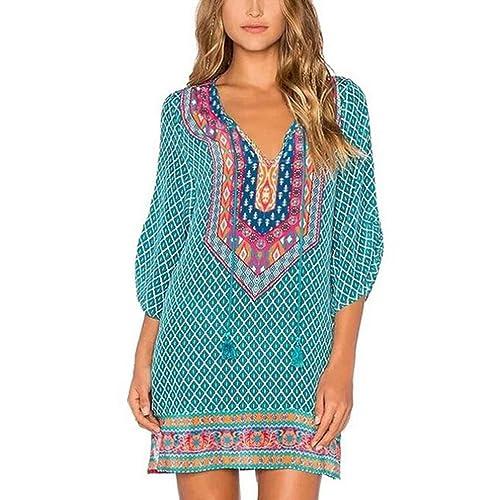 18dd6944375 K youth vestido para mujer vestidos mujer casual verano boho vestidos  cortos mujer jpg 500x500 Playa