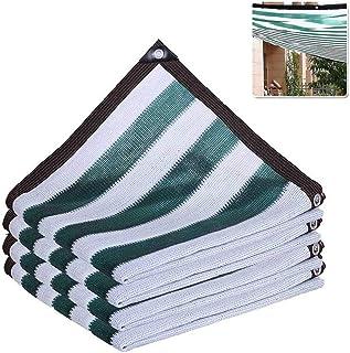 Rete Solare al 90/% Rete da Giardino con Tetto in Ombra Rete ombreggiante Verde Bianco 8 Pin Rete Isolante per Piante Fiore criptata