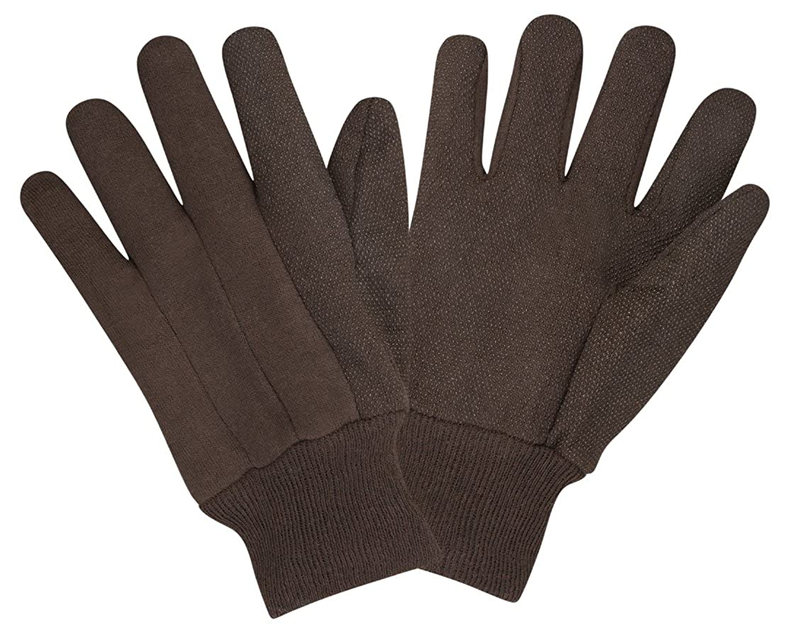 Cordova Safety Products 15101C Men's Dotted Jersey Gloves,