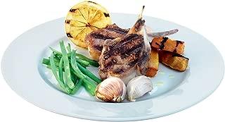 LSA International Dine Dinner Plate Rimmed (4 Pack), 10.6