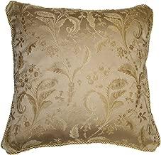 Violet Linen Luxury Damask Decorative Cushion Cover, 18