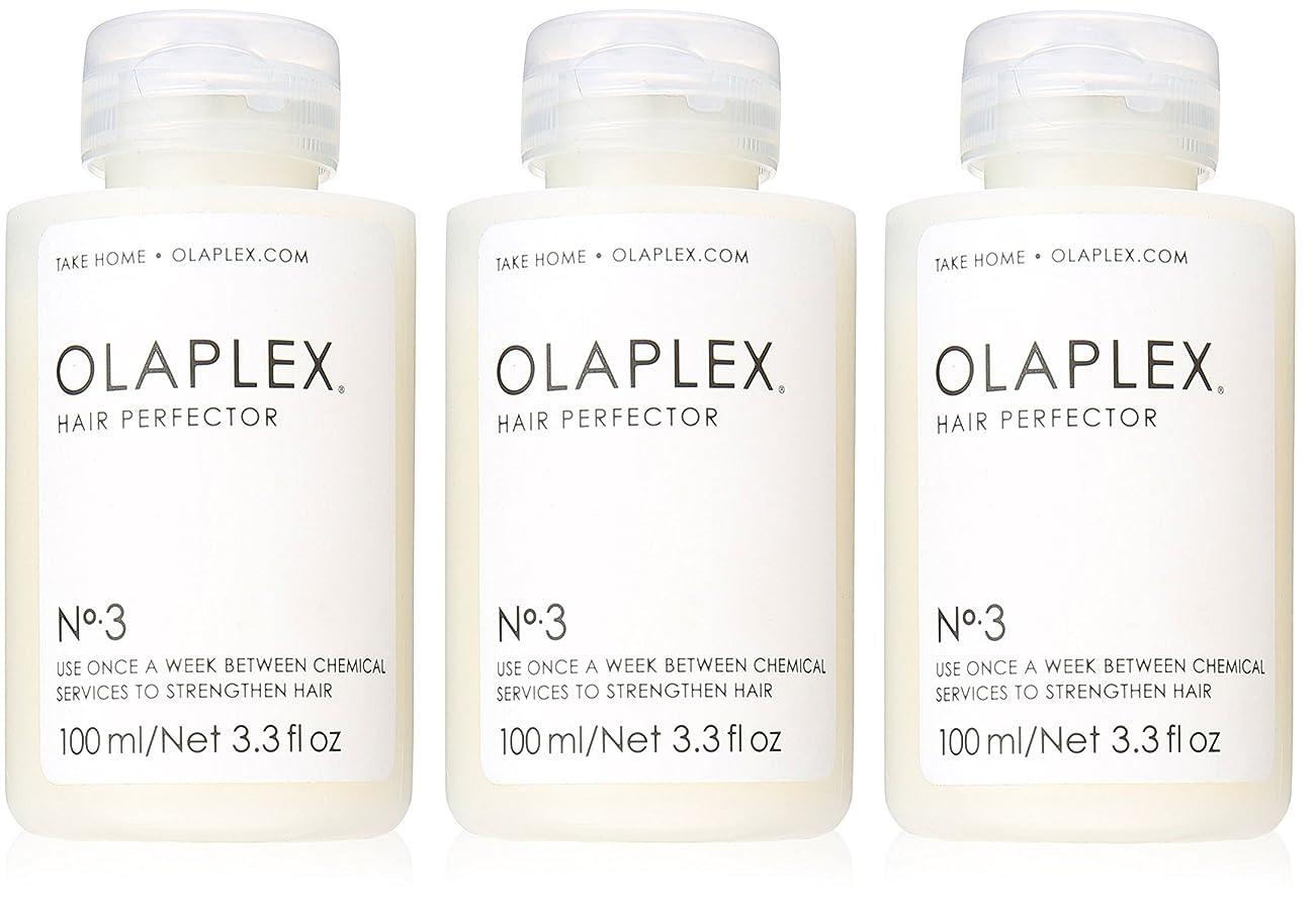 勇敢な乱れパーティーOlaplex Hair Perfector No 3?Repairing Treatment 3Pack (3.3 OZ)