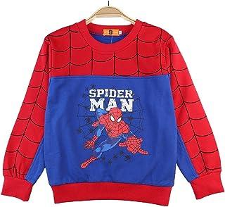 LIJUNQI Spiderman Sweat à capuche pour enfant 2 pièces Ensemble garçon à manches longues pull à capuche pantalon vêtements