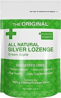 Original All Natural Silver Lozenges - Green Apple, 2.8 Oz