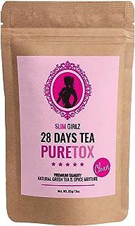 Slim Girlz Detox Tea 28 Days | Té desintoxicante Para