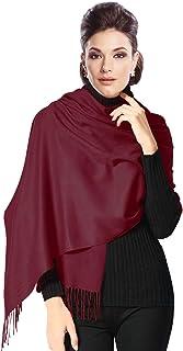 Moschen-Bayern Pashmina Stola Damen Schultertuch Schal Hochzeit Abendkleid Dirndl festlich elegant Schwarz Rot Creme Rosa Pink Blau Grün Beige Ivory Elfenbein