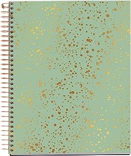 MIQUELRIUS 47986 - Cuaderno Espiral A5, tapa dura, 120 Hojas Cuadrícula Interior 4 Colores Splash