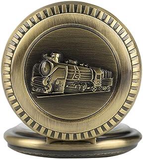 XJJZS Norme de régulation ferroviaire de montre de poche, moteur de vapeur de montre de poche de train