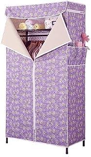 Penderies Armoire de Rangement de vêtements Portables avec Tissu Non tissé et Tige Suspendue Rapide et Facile à Assembler ...