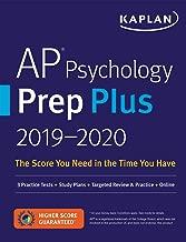 AP Psychology Prep Plus 2019-2020: 3 Practice Tests + Study Plans + Targeted Review & Practice + Online (Kaplan Test Prep)