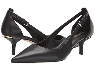 MICHAEL Michael Kors Lorene Mid Pump (Black) Women