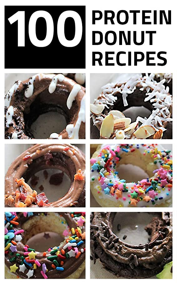 100 Protein Donut Recipes: from Autumn Cleveland (English Edition)