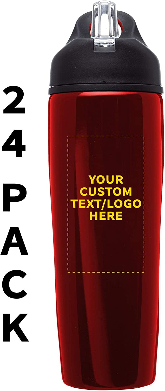 Custom Stainless Steel Water Bottle 2020A/W新作送料無料 Personalized 24 pack Text 2020 新作