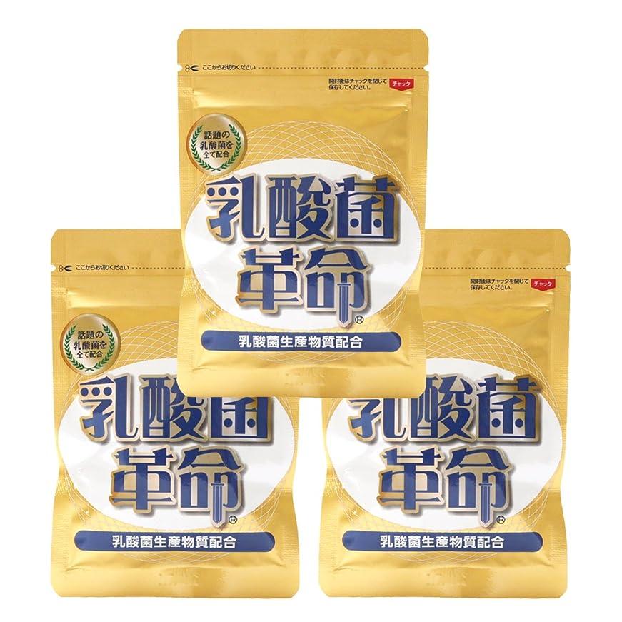 メロドラマレコーダー暴君健康いきいき倶楽部 乳酸菌革命 3袋セット (62粒入×3袋) 乳酸菌 サプリ
