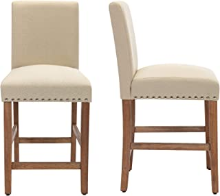 THKSBOUGHT Set of 2 Bar Chairs 24 Inch Counter Stools...