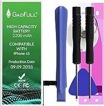 GadFull Batteria ad Alta Capacità compatibile con iPhone 6s | 2018 Data di produzione | incl. Set di riparazione manuale & Kit strumenti Profi | Nuova Batteria Cellulare Extra