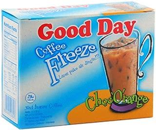 Good Day Freeze Choc Orange Coffee 150 Gram (5.29 Oz) Instant Coffee 5-ct @ 30 Gram (Pack of 4)