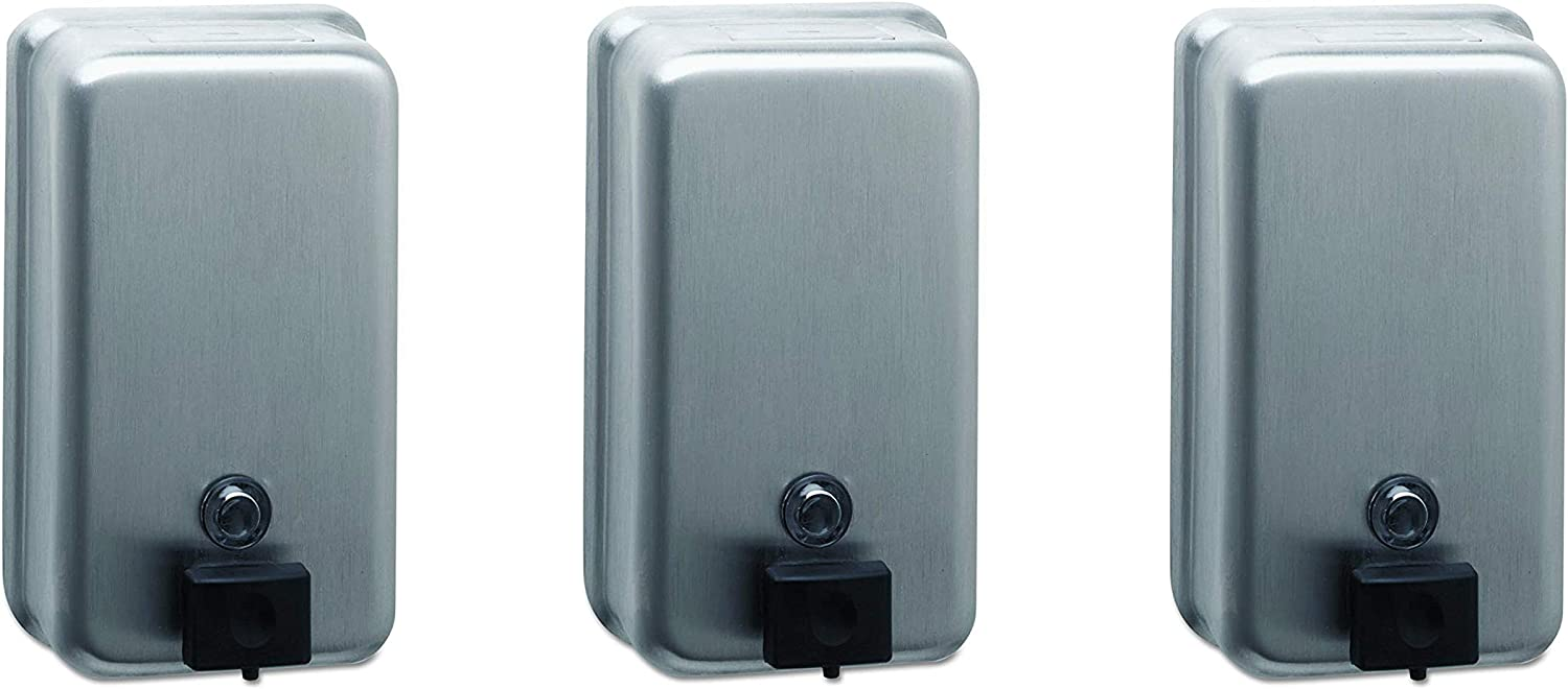 Selling and selling Bobrick Popular products 2111 ClassicSeries Surface-Mounted Dispenser 40oz Soap