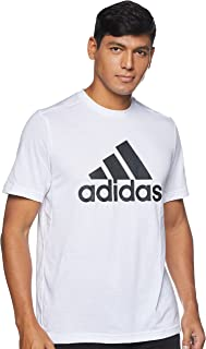 adidas mens D2M FEELREADY LOGO T-SHIRT T-Shirt