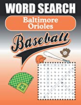 Baltimore Orioles Word Search: Word Find Puzzle Book For All O's Baseball Fans