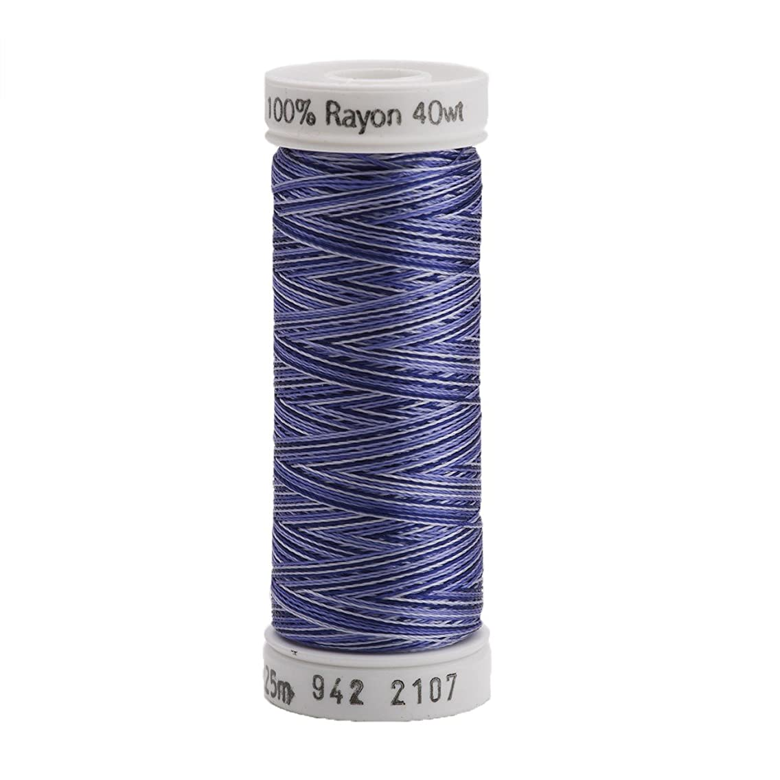 Sulky 942-2107 Rayon Thread for Sewing, 250-Yard, Vari Navy Blue