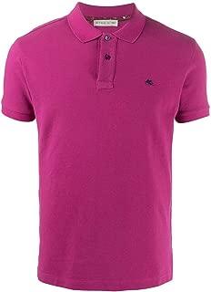 ETRO Luxury Fashion Mens 1Y1409240650 Purple Polo Shirt | Spring Summer 20