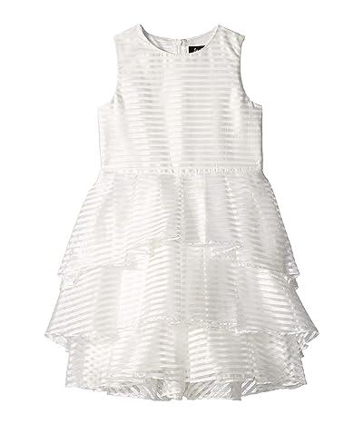 Bardot Junior Melba Linear Dress (Big Kids) (Ivory) Girl