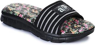 Liberty A-HA Women's Cushion-18 Black Slippers