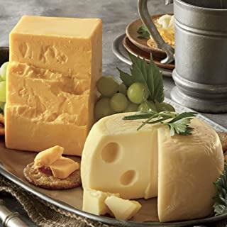 Sharp Cheddar & Baby Swiss, Buy 2 lb. Cheddar and 2 lb. Swiss from The Wisconsin Cheeseman