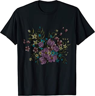 Diseño de ramo botánico de diente de león Camiseta